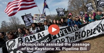 Nine Democrats vote for the Keystone XL Pipeline Bill (Video)